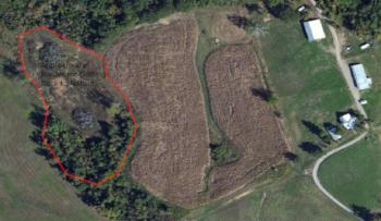 Partial Aerial view of Martin Acres circa 2012