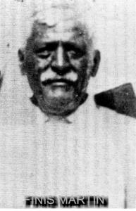 Finis Martin (17 February 1859‐14 August 1932)