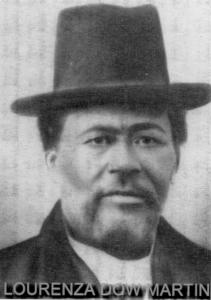 Lourenza Dow Martin (4 May 1833‐7 April 1897)